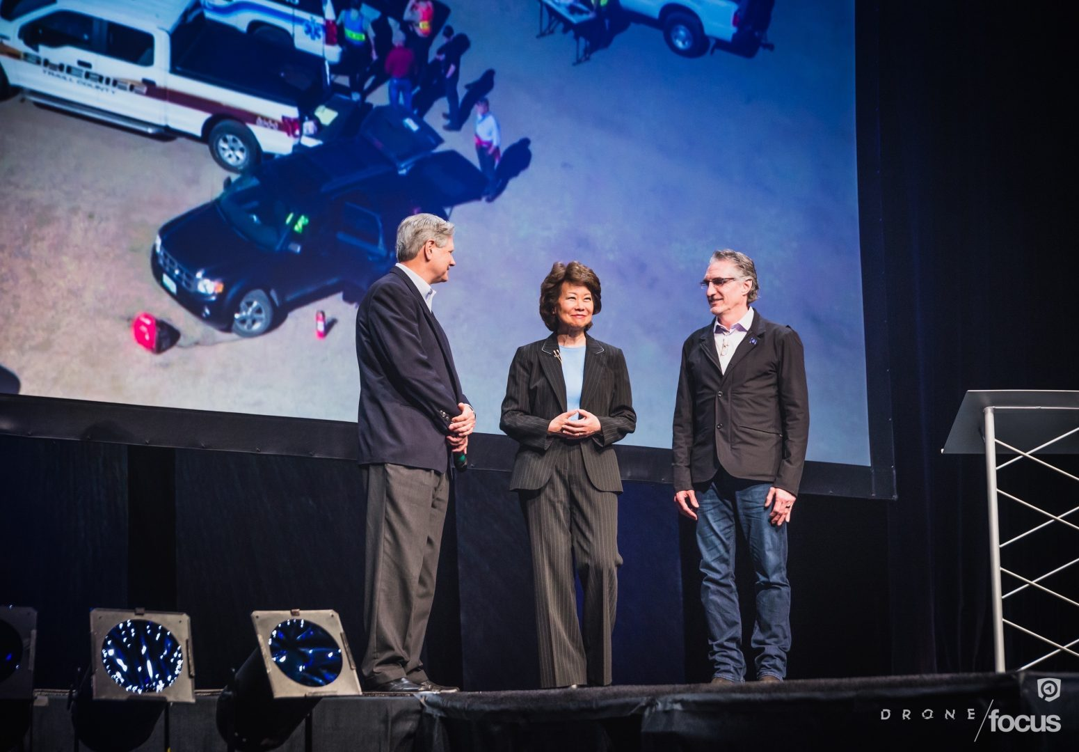 Hoeven, Chao, and Burgum image by J. Alan Paul Photography & Emerging Prairie